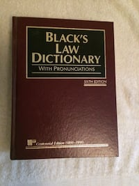 Black's Law Dictionary with Pronunciations, 6th Edition Fairfax, 22030