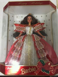 Barbie doll in red and white dress Denver, 28037