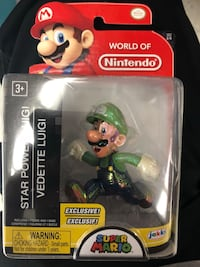 "Star power luigi world of nintendo 2.5"" figure Valrico, 33596"