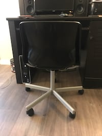 Black and gray rolling office chair Denver, 80206