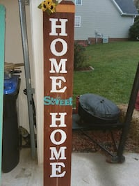 home wooden decor signage Knoxville