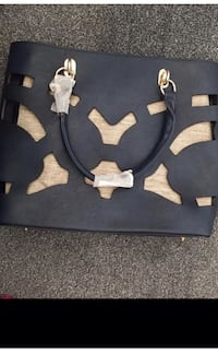 Navy and gold shoulder bag London, N5 1EJ