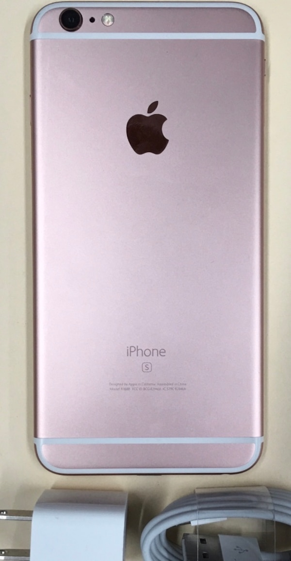 super popular ee4c8 06d9a 64GB Rose Gold(Pink) iPhone 6s Plus(6s+) - Factory Unlocked.