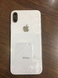 Iphone cracked back glass repair Mississauga, L5M 5Y3