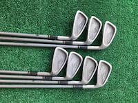 King Cobra Oversize Clubhead 7 Iron Golf Set, 4 - PW, Stiff Flex Houston, 77064