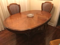 Solid Wood Dining Table & Buffet