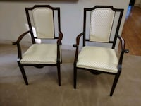 Two Antique Mahogany Chairs Fort Washington, 19034
