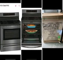 "Induction frigidaire 30"" convection electric range"