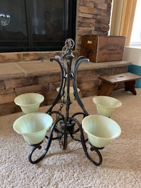 Beautiful 5 Light Maxim Aged Bronze Chandelier, Like New! Clarksville, 21029