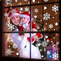 Over 170 snowflake window decals and 6 hanging Alexandria, 22304