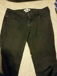 Women's size 13 skinny jeans Point of Rocks