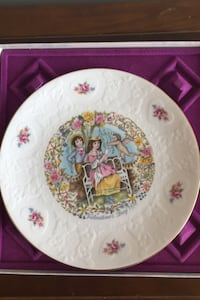 Collectible Cupid plate Frederick, 21703