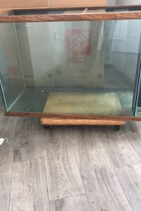 100 gallon GLASS FISH TANK