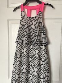 Girl's Summer dress size 8 fits 7/8 worn once great for going south , beach photos etc Mississauga, L5K 1H5