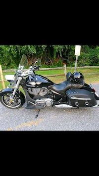 black and gray touring motorcycle Waldorf