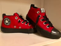 Pair of red converse all star high-top sneakers Rockville, 20853