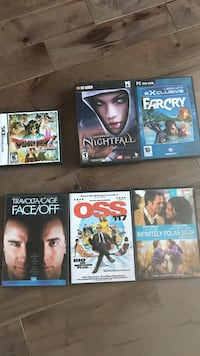 four assorted Sony PS3 game cases L'Ancienne-Lorette, G2E 3A7