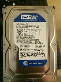 WD blue 250gb hard drive (hdd) Potomac, 20854