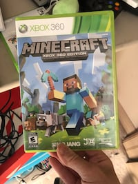 Minecraft Xbox 360 game case Edmonton, T5Z 0C6