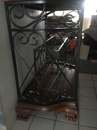 St. Lauret Rod Iron Wire Cabinet  Haines City, 33844