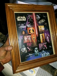 Star Wars collector stamps