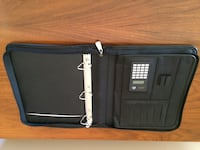 Binder Calculator Black Like Leather Surrey