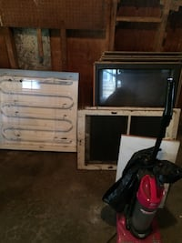 two black and gray CRT TV Naperville, 60540