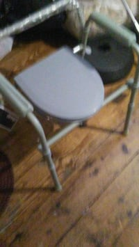 gray and black metal chair Chicago, 60620