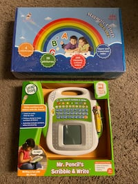 LEAPFROG MR.PENCIL + MAGNETIC LETTERS 234 PC WRITING SPELLING LEARN