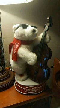 Coca cola music bear 802 mi