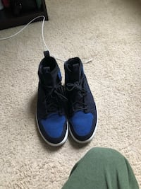 pair of blue-and-black Nike basketball shoes Dunwoody, 30346
