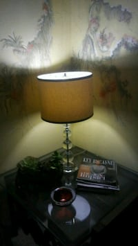 black and white table lamp Hollywood, 33020