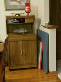 Kitchen cart for microwave stand
