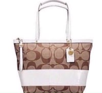 Authentic Coach Bag Georgetown, L7G 1X6
