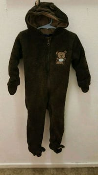 Hooded Sleep and Play Bear. Size 18-24 Months Los Angeles, 90033