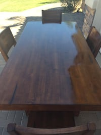 Solid wood dining table Chandler, 85249