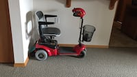 red and black mobility scooter Everett, 98201