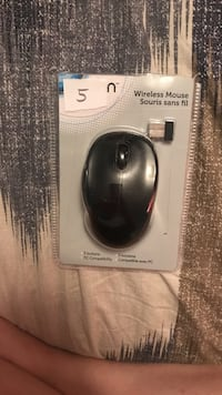 black wireless mouse pack Toronto, M6L 1B1
