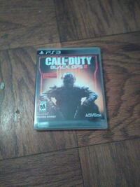 Call of Duty Black Ops 3 PS3 game case Hyattsville, 20781