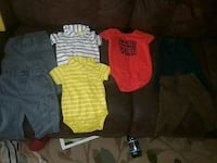 7 piece baby boy 6-9 month clothes  Oklahoma City, 73112