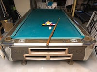 blue and gray pool table Pleasantville, 10570
