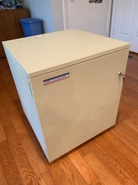 white wooden 2-drawer chest North Potomac, 20878