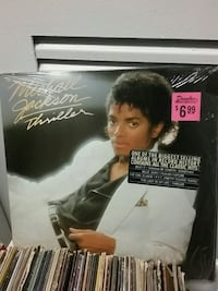 Michael Jackson Thriller Record Washington, 20001