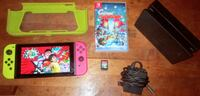 Nintendo switch with games bundle