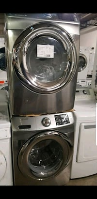 gray Samsung front-load clothes washer St. Louis, 63146