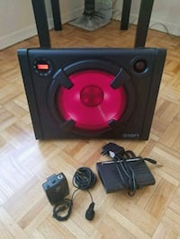 Speaker with wireless head set Oakville