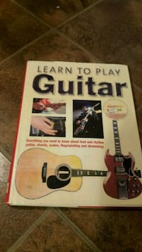 Learn to play Guitar book Calgary, T2B 2V1