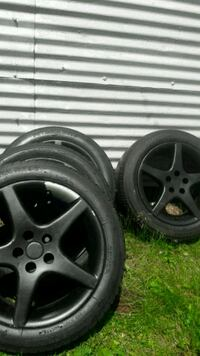 After market rims with ok tread