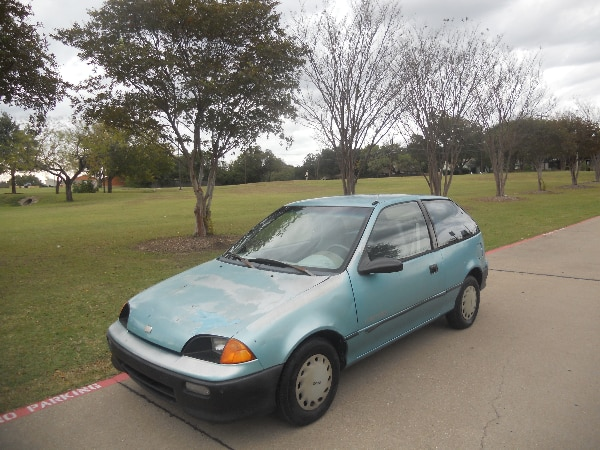Begagnad 1999 Chevrolet Geo Metro 3cyl 1 0l Owner Only 60k Miles Fun 5 Sd Till Salu I Haltom City Letgo