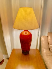 Orange & Brown Clay Lamp Deerfield Beach, 33441